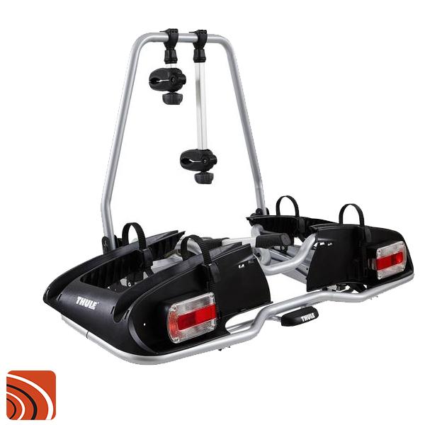 Fietsendrager voor 2 elektrische fietsen